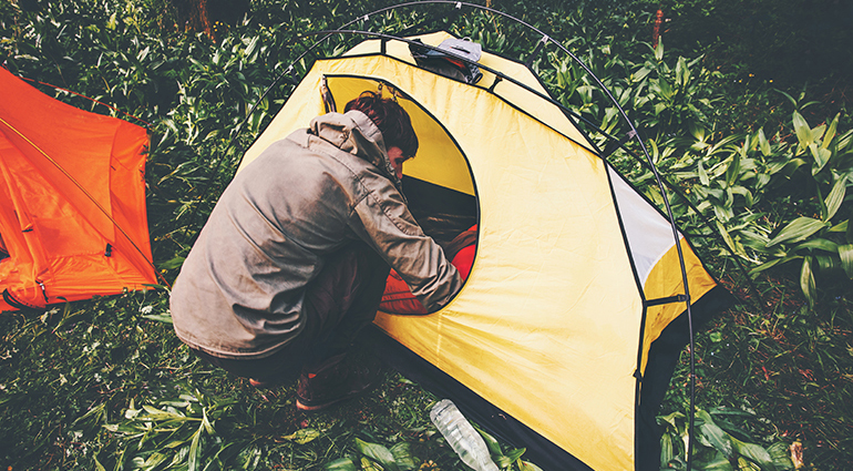 Living in Tents & Living in Tents | Our Daily Bread