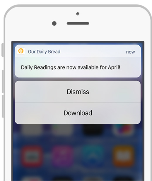 Mobile Resources   Our Daily Bread