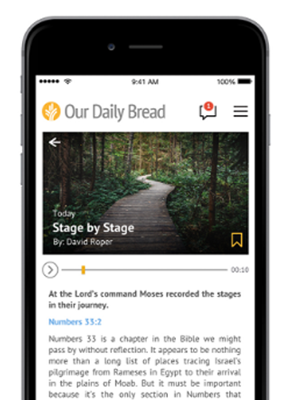 Our Daily Bread App